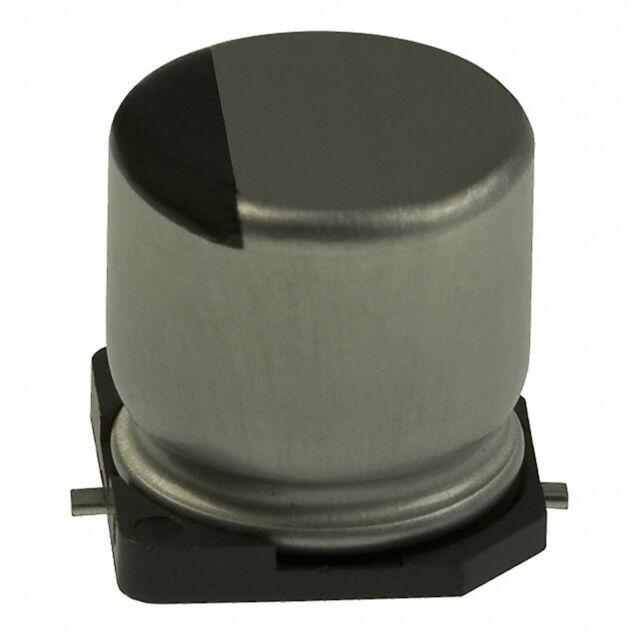 10 pcs.  Nichicon  SMD Kondensator  Elko  10uF 25V  5x5,4mm 105°C  NEW  #BP