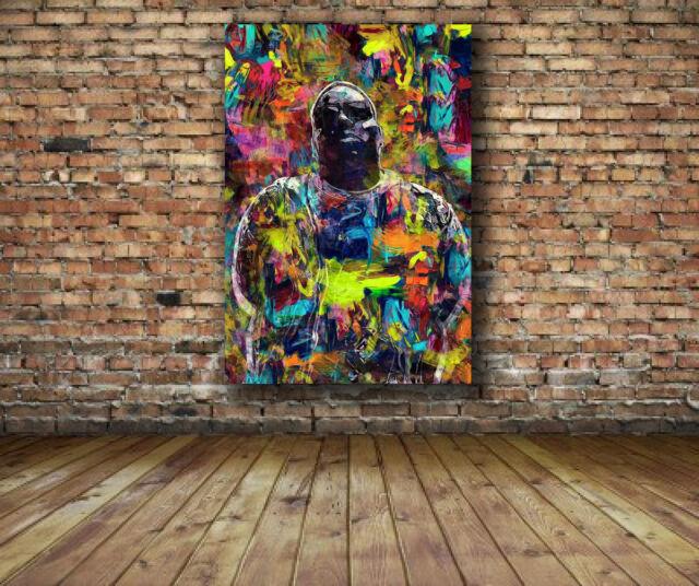 T2665 20x30 24x36 Silk Poster Notorious BIG Biggie Smalls Smoking Rap Art Print