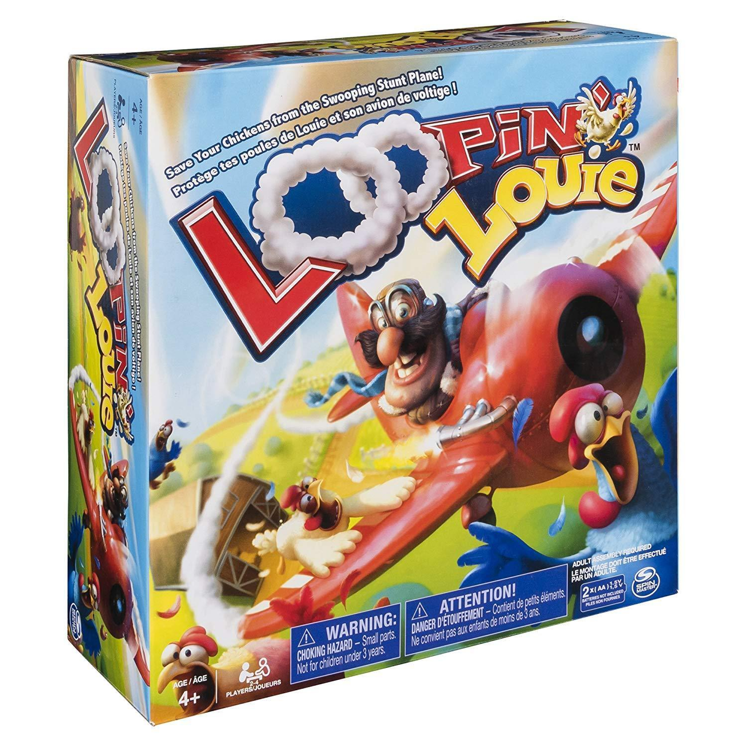 Loopin' Louie - Interactive Family Board Game for Kids Aged 4 and Up