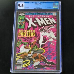 X-Men-127-CGC-9-6-White-Pages-PROTEUS-App-Marvel-Comic-Uncanny-NM-1979