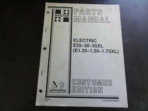 Hyster-E25XL-E30XL-E35XL-Forklift-Electric-Parts-Manual-852108