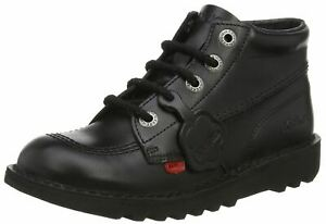 Kickers-Kick-Hi-Core-Black-Leather-Unisex-Lace-Up-School-Boots