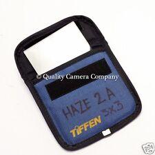 "Tiffen 3x3"" Haze 2A Glass Filter DIGITAL OR FILM - CINE/VIDEO/STILL - EX!"