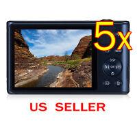 5x Samsung Wb30f Clear Lcd Screen Protector Guard Shield Film