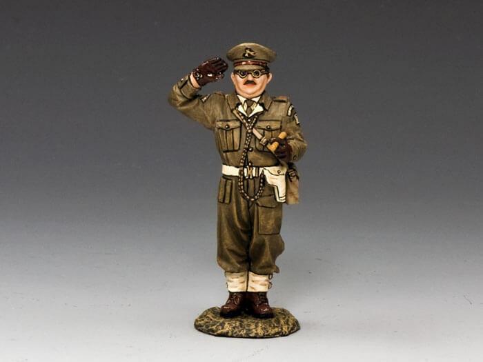 King & Country Felder von Kampf FOB082 Britisch Heim Schutz Captain MIB