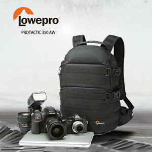 Brand-New-LowePro-ProTactic-350-AW-Camera-Backpack-Bag-Case-Free-Postage