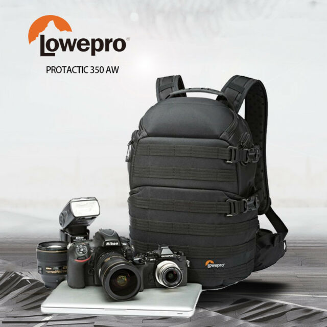 Brand New LowePro ProTactic 350 AW Camera Backpack Bag Case Free Postage