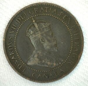 1904-Canada-One-Cent-1c-Coin-Large-Cent-Bronze-You-Grade
