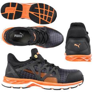 413715522d5b Das Bild wird geladen Sicherheitsschuhe-S1P-Puma-Rush-Mid -modern-sportlich-Arbeitsschuhe-