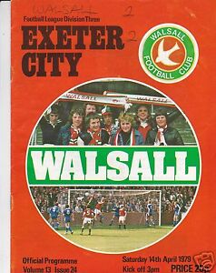 WALSALL-V-EXETER-CITY-3RD-DIVISION-14-4-79