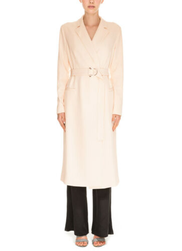 Kx151040j Womens Chain Size Reaction Keepsake Relaxed Coat S Ivory F4fqnOZ