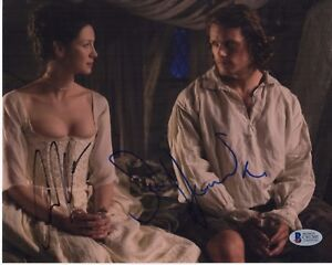 SAM-HEUGHAN-CAITRIONA-BALFE-SIGNED-OUTLANDER-8X10-PHOTO-AUTOGRAPH-PSA-BAS-COA-4