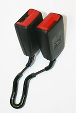 VW Golf Mk4 Seat Belt Buckle Double Middle Rear Black 1998 to 2004 1J0 857 488 C