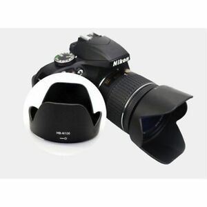 Lens-Hood-for-Nikon-D3300-D5300-AF-P-18-55mm-f-3-5-5-6G-VR-as-HB-N106