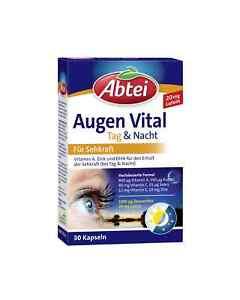 40-49-100gr-Abtei-Augen-Vital-Tag-amp-Nacht-30-Kapseln