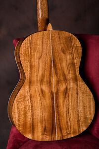 Guitare Classique Personnalisé Bricolage Kit... Tout En Bois Massif Avec Spruce Top + Mahogany Body-afficher Le Titre D'origine