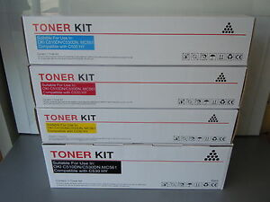 4-PACK-DELL-TONER-CARTRIDGES-1250C-1350C-1355CN-1350CNW-HIGH-CAPACITY