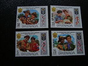 100% De Qualité Grenade - Timbre Yvert Et Tellier Aerien N° 22 A 25 N** (a8) Stamp Grenada