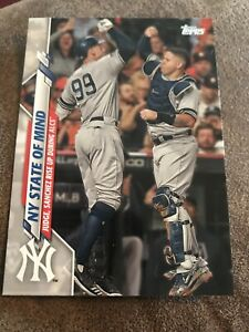 2020 Topps Series 2 #591 NY State of Mind - New York Yankees Celebrating