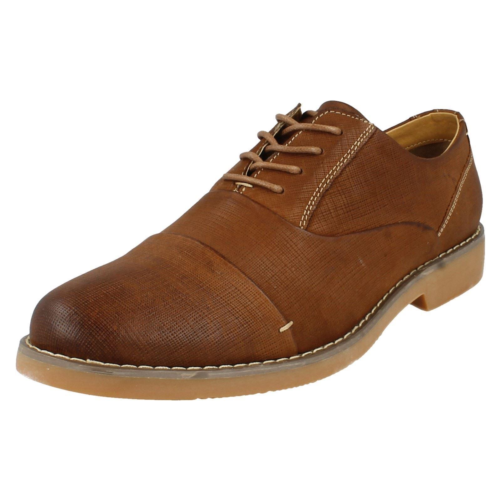 Thomas Blunt de A2139 Hombre Marrón Formal Zapatos de Blunt Piel con Cordones 366ba0