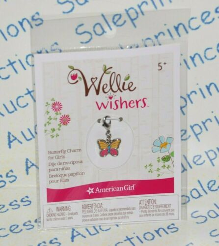 NIP American Girl Wellie Wishers Butterfly Charm for Girls Retired