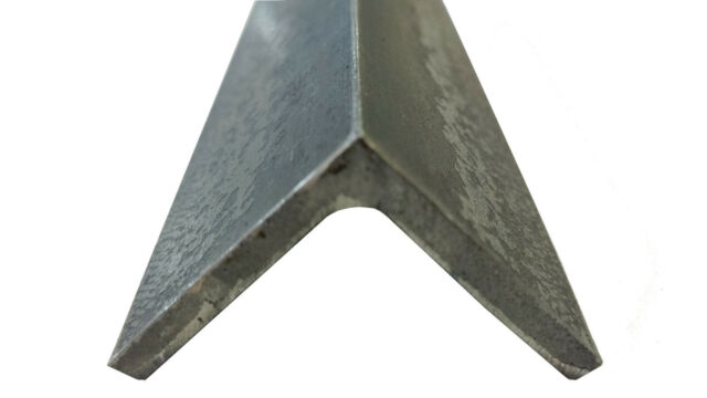 """A36 Hot Rolled Steel Angle Iron 3//4/""""X 3//4/""""X 96/"""" Long 1//8/"""" Thick"""
