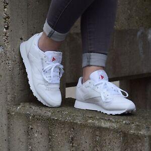 Reebok Damen Classic Leather Sneaker