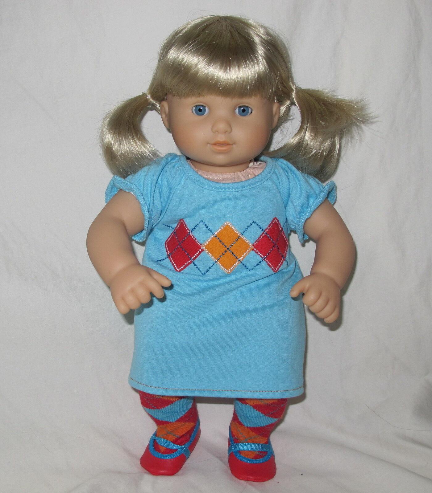American Girl Doll Bitty gemelos Twin Girl Doll Muñeca Rubia único Nuevo