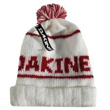 DAKINE Alex Womens Oversized 100 Acrylic Pom Beanie White for sale online