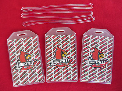 Louisville Cardinals Luggage Tag 2-Pack