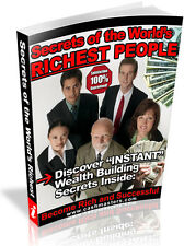 SECRETS OF THE WORLDS RICHEST PEOPLE PDF EBOOK FREE SHIPPING RESALE RIGHTS