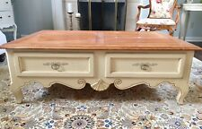 Bon Buy Ethan Allen Country French Birch Oval Coffee Table #26 ...