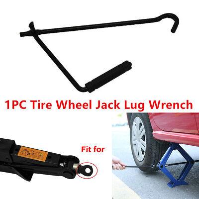 NEW Steel Scissor Jack Handle Crank Tool Car Van Garage Tire Wheel Lug Wrench