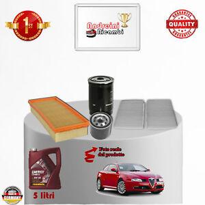 150 HP 1.9 JTD 16V M-Jet  937A5000-110 kW 125 Kit Filtri Tagliando Alfa GT