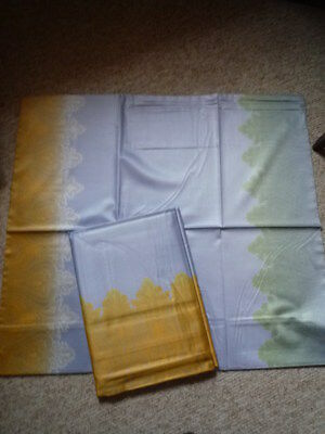 Möbel & Wohnen Energisch Bettwäsche Yes For Bed Gelb/grün/blau Die Nieren NäHren Und Rheuma Lindern Bettwäsche