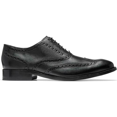 Cole Haan Mens Williams Brogue Leather Wingtip Oxfords Shoes BHFO 3594