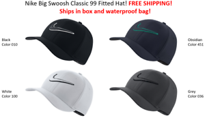 SHIPS-IN-BOX-Nike-Golf-TOUR-HAT-Swoosh-Cap-Classic-99-FITTED-HAT-FREE-SHIPPING