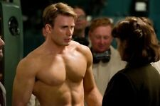 Chris Evans Poster #01 Shirtless 24x36""