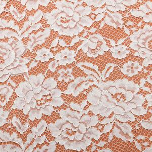 8-Farben-Blumenmuster-Hochzeit-Kleid-Stoff-Stickereien-Verschnuert-Brautkleid-DIY