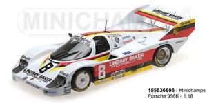 entrega gratis Minichamps 155836698 - Porsche 956K – – – Joest Racing – Lindsay Saker Motors –  tienda en linea