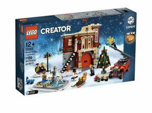 Lego-Creator-Expert-Winterliche-Feuerwache-10263-nagelneu-und-ovp