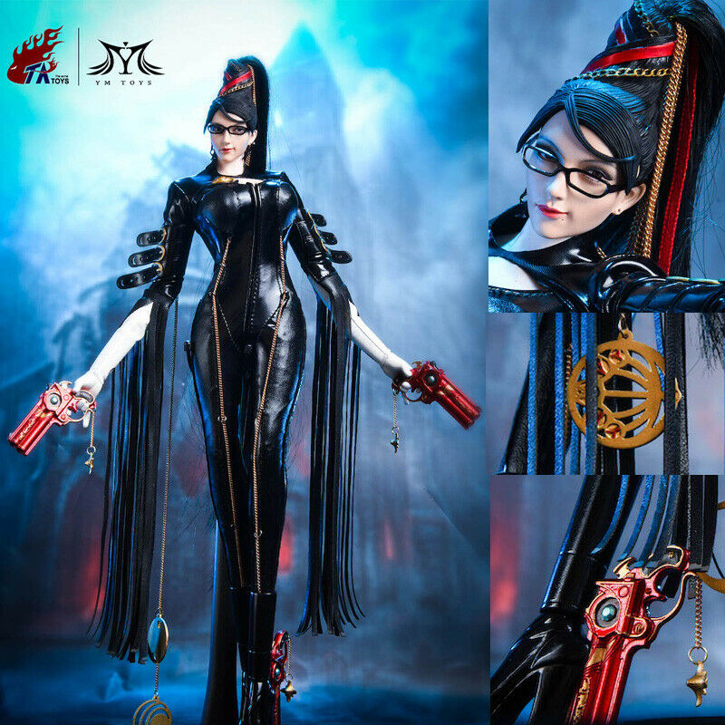 1 6 YMgiocattoli X  ACMEgiocattoli JZ01 Bayonetta cifra Set 12'' Flexible Female bambola Gifts  bellissimo