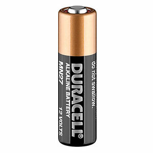 Duracell Mn27 Lr27 A27 Battery For Car Key Fobs Garage Door Remotes Exp 2022 4052993208778 Ebay