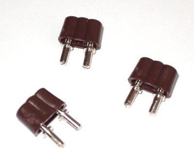 leuchtet ROT mit Kabel und Stecker  -NEU//OVP Flacker-LED 3,5 Volt Kahlert