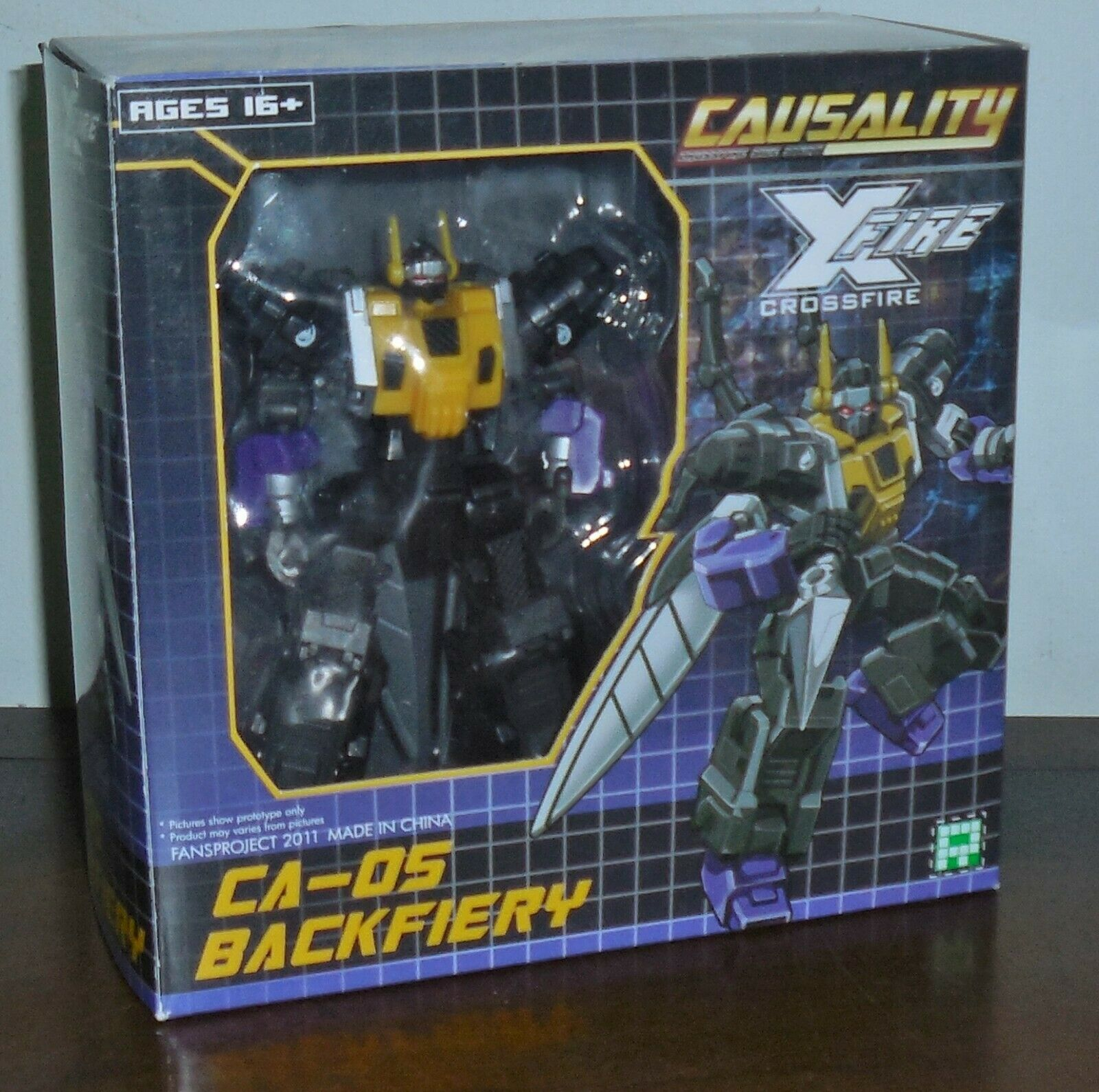 Fansproject Ca-05 BACKFIERY Insecticon Figure w box