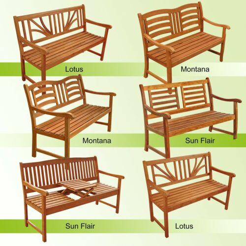 Banco de jardín banco para sentarse banco de madera banco banco de parque banco de balcón banco muebles de jardín madera FSC