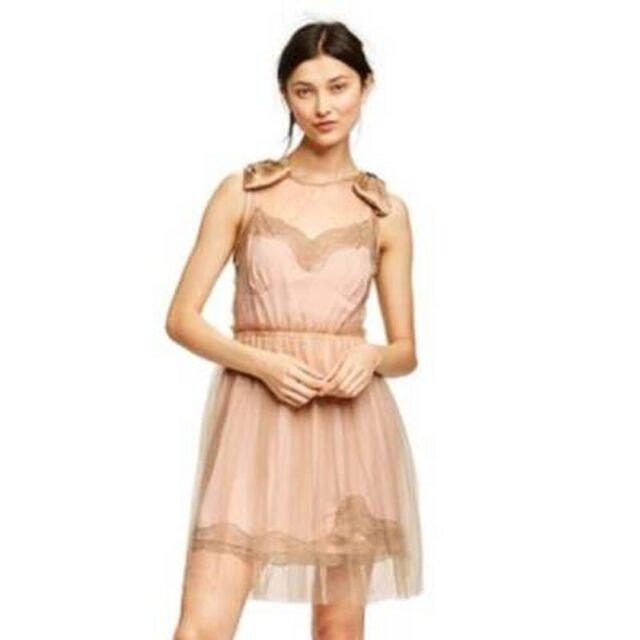 RODARTE Target Blush Pink Dress 3XL NWT plus size SOLD OUT rare beige lace