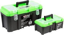 Oemtools 22161 Tool Box Set With Removable Tool Trays Includes Two 2 Tool Box