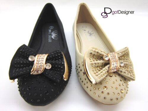 NEW Women/'s HOT Shoes Fashion Flats Ballet Casual Slip On Comfort Blink Bow