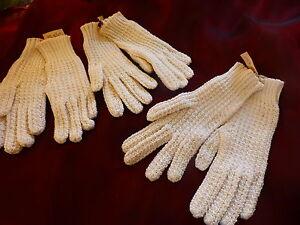 neufs -blancs coton -fillette jolis anciens gants pour folklore- théatre ??? vIbkinHZ-09101306-342764563
